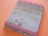 Kawaii Cute Spiral Medium Memo Pad & Envelopes Set Sanrio Original *Sanrio Characters (44478-2)