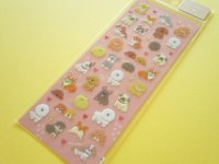 Kawaii Cute Pukumori Stickers Sheet  Mind Wave *わんころころ (79219)