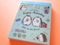 Kawaii Cute Mini Memo Pad Q-LiA *Enjoy Saturday (30163)