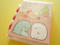 Kawaii Cute Patapata Mini Memo Pad Set Sumikkogurashi San-x *しろくまのてづくりぬいぐるみ (MW45001)