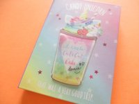 Kawaii Cute 流れるShiny Medium Memo Pad Q-LiA *Candy Unicorn (30168)