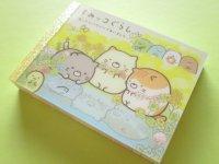 Kawaii Cute Mini Memo Pad Sumikkogurashi San-x *ねこのきょうだいにであいました (MW46001-1)