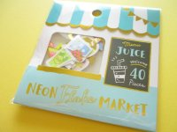 Kawaii Cute Sticker Neon Flake Market Mind Wave *Juice Shop (79462)