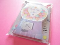 Kawaii Cute choo my color Die-Cut Medium Memo Pad Q-LiA *Gum Ball (34557)