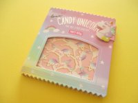 Kawaii Cute Delicafe Collection Medium Memo Pad Q-LiA *Candy Unicorn (30329)