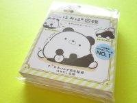 Kawaii Cute Patapata Mini Memo Pad Pad Hamipa San-x *ぱんだ、はみでました。(MW48101)