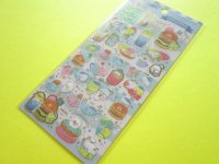 Kawaii Cute Sticker Sheet San-x Mamegoma *Mamegoma Cafe (SE38002)