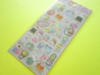 Kawaii Cute Sticker Sheet San-x Mamegoma *Mamegoma Cafe (SE38001)