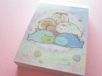 Kawaii Cute Mini Memo Pad Sumikkogurashi San-x *Sumikko & Umikko (MW49701-2)