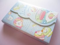 Kawaii Cute Medium Memo Pad Jinbesan San-x *Nanairo Kurage (MW52501)
