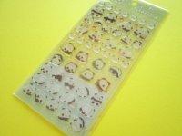 Kawaii Cute Colorful Clear Sticker Sheet San-x *Hamipa (SE39010)