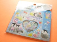 Kawaii Cute Sticker Flakes Sack Kamio Japan *Creamy Luminance (24543)