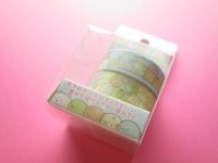 2 pcs Kawaii Cute Mini Masking Tape/Deco Tape Stickers Set San-x *Sumikkogurashi (SE39203)