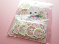 Kawaii Cute Sticker Flakes Sack Amenomori Fumika Clothes Pin *Rose (US-13872)