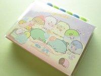 Kawaii Cute Patapata Mini Memo Pad Set Sumikkogurashi San-x *いっしょにおとまり会 (MW56701)
