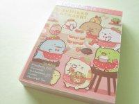 Kawaii Cute Mini Memo Pad Sumikkogurashi San-x *Strawberry Fair (MW58601-1)