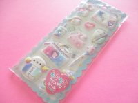 Kawaii Cute Puffy Marshmallow Stickers Sheet Crux *Keshikko (73034)