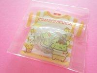Kawaii Cute T-shirt Summer Sticker Flakes Sack Sanrio Original *POMPOMPURIN (49241-8)