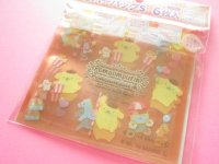 6pcs Kawaii Cute POMPOMPURIN Small Zipper Bags Set (ZBS-PN)
