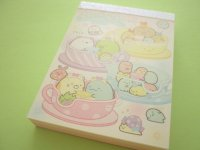 Kawaii Cute Mini Memo Pad Sumikkogurashi San-x *Tapioca Park (MW64601-3)