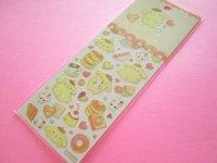 Kawaii Cute Stickers Sheet  POMPOMPURIN × たけいみき Miki Takei Sanrio *Soufflé (US-15461)