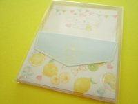 Kawaii Cute Mini Letter Set Cinnamoroll × たけいみき Miki Takei Sanrio *Fresh Citrus (LS-15467)