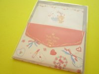 Kawaii Cute Mini Letter Set Hello Kitty × たけいみき Miki Takei Sanrio *Paris and Ribbons (LS-15466)