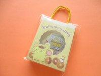 Kawaii Cute  Mini Paper Bagged Sticker Flakes Sack Sanrio original *POMPOMPURIN (95011-4)