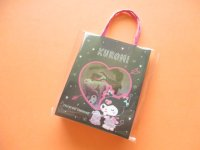 Kawaii Cute  Mini Paper Bagged Sticker Flakes Sack Sanrio original *Kuromi (95035-1)
