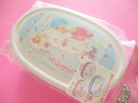 3 pcs Kawaii Cute Bento Lunch Box Container Set Little Twin Stars Sanrio Original *Music Notes (88242-9)