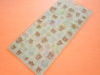 Kawaii Cute Sticker Sheet Rilakkuma San-x *Chairoikoguma's Friends (SE49701)