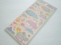 Kawaii Cute Stickers Sheet Jinbesan San-x *Jinbesan & Samesan (SE50501)