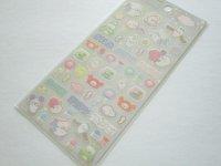 Kawaii Cute Stickers Sheet Mamegoma San-x *Feel the Sea at Home (SE50602)