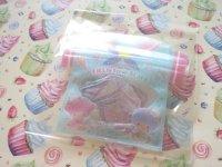 Kawaii Cute T-shirt Summer Sticker Flakes Sack Sanrio Original *Little Twin Stars (60765-7)
