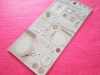 Kawaii Cute Libre Collage Stickers Sheet Q-LiA *Ivory (80772)
