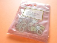 Kawaii Cute Drop Peko Sticker Flakes Sack Fujiya *Peko-chan (102087)