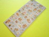 Kawaii Cute Sticker Sheet Rilakkuma San-x * Rilakkuma Marche (SE51102)