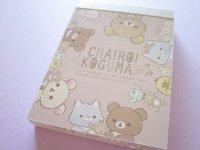 Kawaii Cute Mini Memo Pad Rilakkuma San-x *Let's make a cute plushie together! (MH06501-3)
