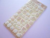 Kawaii Cute Puffy Stickers Sheet Rilakkuma San-x *Let's make a cute plushie together! (SE51501)
