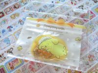 Kawaii Cute Sticker Flakes Sack in Mini Zipper Case Sanrio Original *POMPOMPURIN (97768-3)