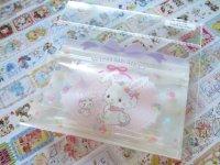 Kawaii Cute Sticker Flakes Sack in Mini Zipper Case Sanrio Original *Wish me mell (97792-6)