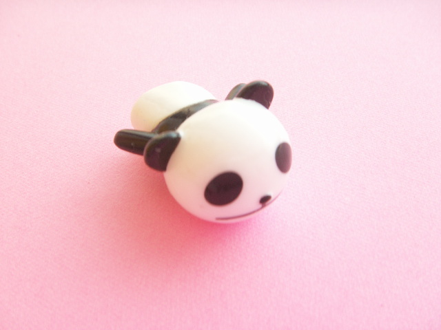 Photo1: Kawaii Cute Panda Pencil Toppers Decoration Novelty Japan C