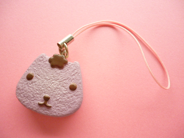 Photo1: Kawaii Cute Kapibarasan Regentkun Cookie with a Creamy Filling Strap Charm