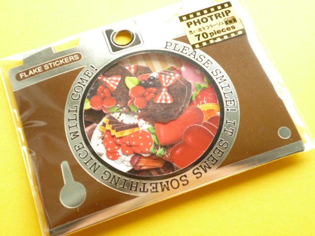 Photo1: Kawaii Cute PHOTRIP Sticker Flakes Sack Q-LiA (61279)