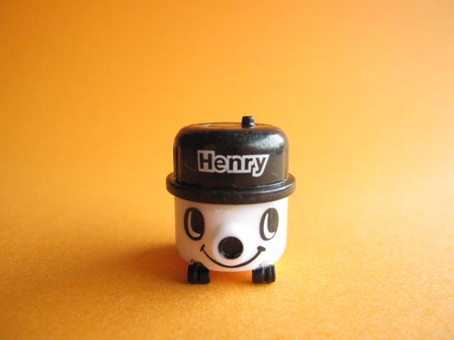 Photo1: Kawaii Cute Henry Vacuum Cleaner Tiny Figure Mascot Toy *White