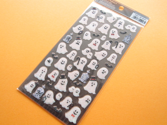 Photo1: Kawaii Cute Sticker Sheet Kamio Japan *Ghost (44943)