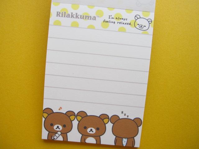Kawaii Cute Mini Memo Pad San X Rilakkuma Mm 18401