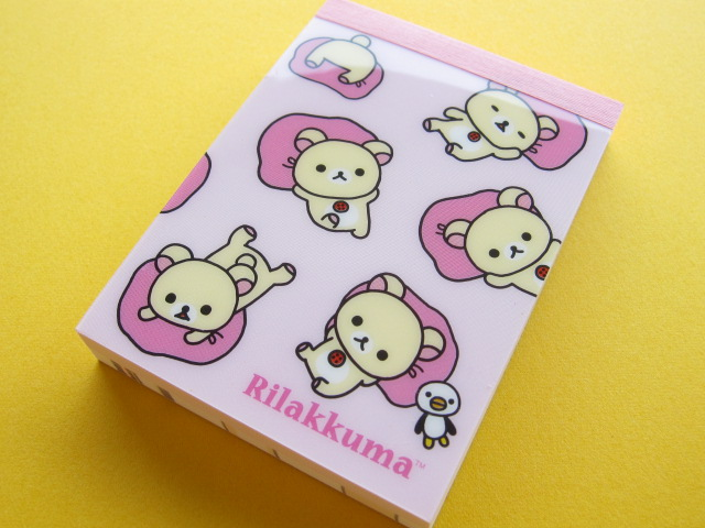 Photo1: Kawaii Cute Mini Memo Pad San-x *Korilakkuma (MM 18501)