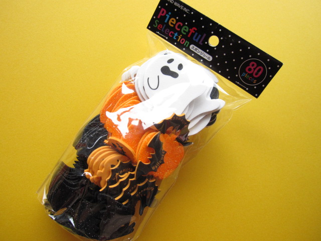 Photo1: Ghost Spongy Stickers Flakes Sack Mind Wave (75407)
