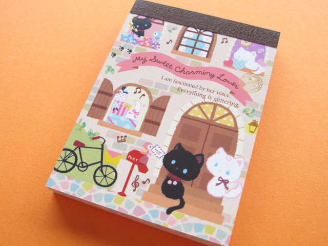 Photo1: Kawaii Cute Mini Memo Pad Q-LiA *My Sweet Charming Lover (80275)